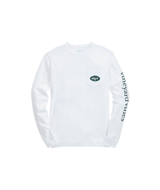 New York Jets Long-Sleeve EDSFTG T-Shirt