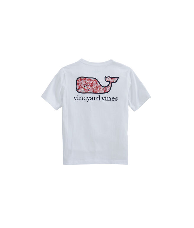 Boys Island Batik Whale Fill Pocket T-Shirt