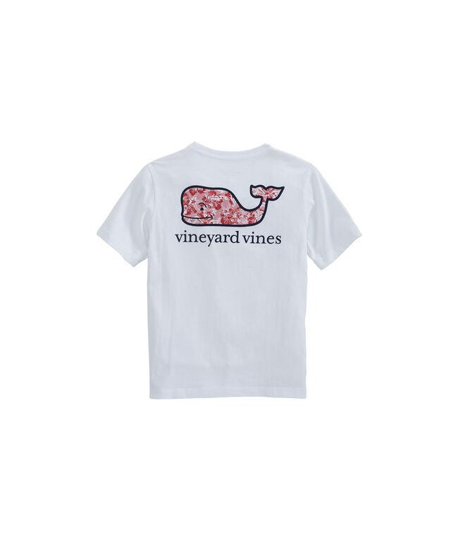 ac913e367e56c8 Shop Boys Island Batik Whale Fill Pocket T-Shirt at vineyard vines