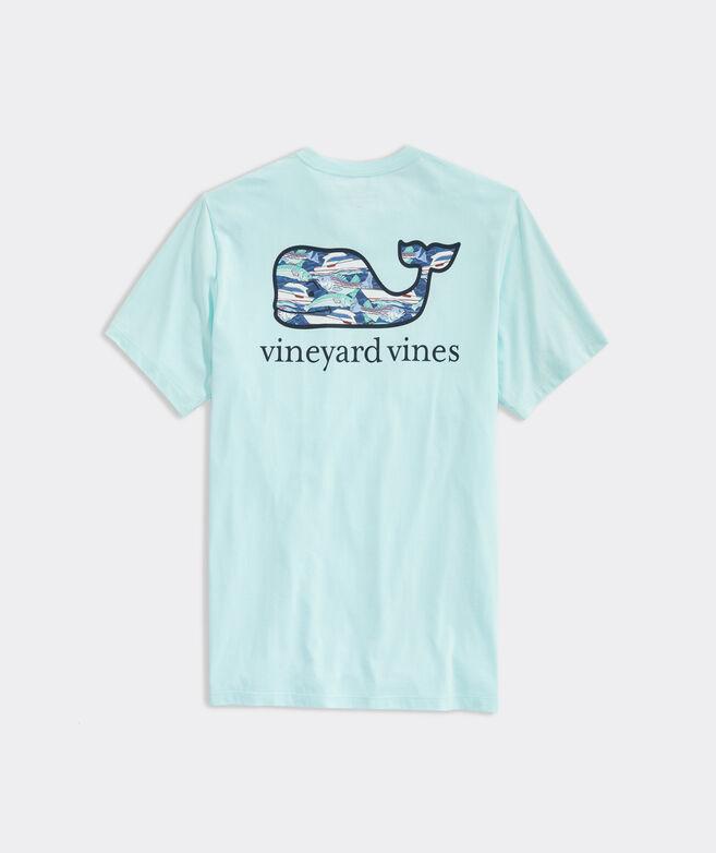 Fish School Whale Short-Sleeve Pocket Tee