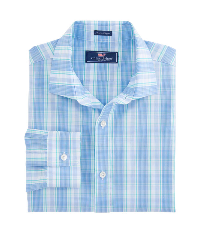 Coppermine Point Plaid Performance Cooper Shirt
