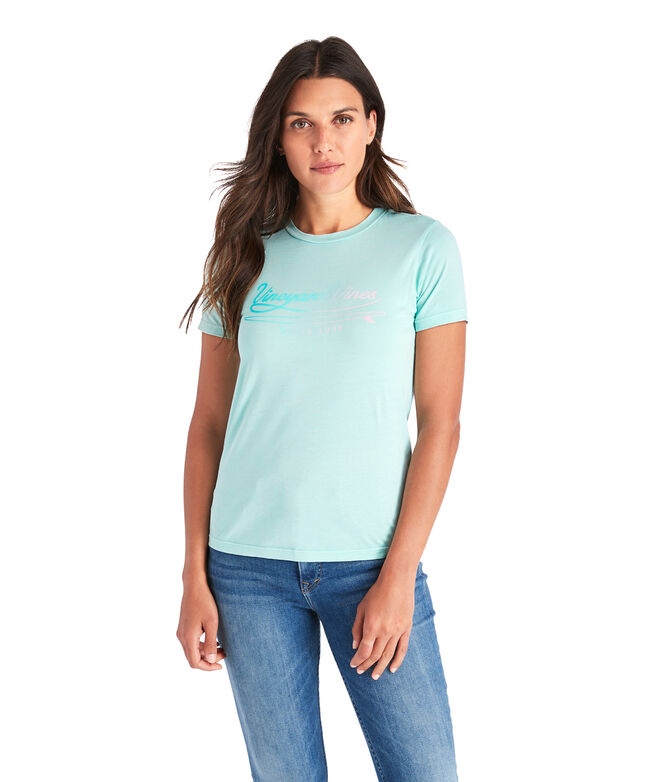 Vineyard Surf Short-Sleeve Island Tee