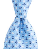 Boys Anchor & Whale Tie