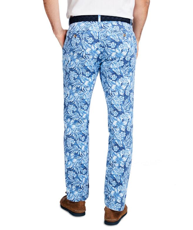 Floral Printed Breaker Pants