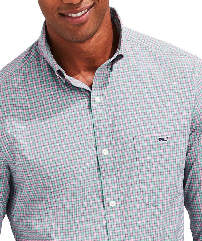 Slim Fit Teton On-The-Go Performance Tucker Button-Down Shirt