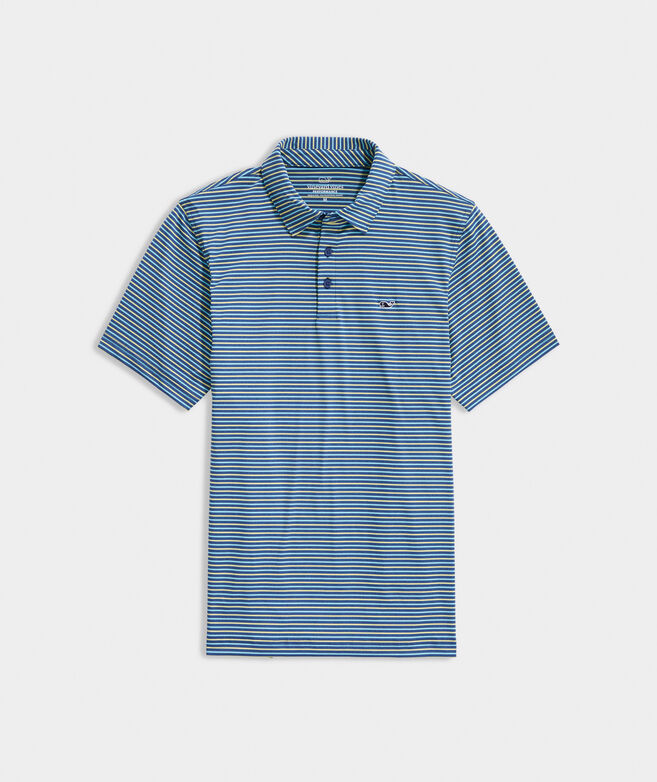 Bradley Stripe Sankaty Performance Polo