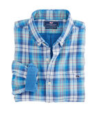 East Marsh Plaid Slim Tucker Shirt