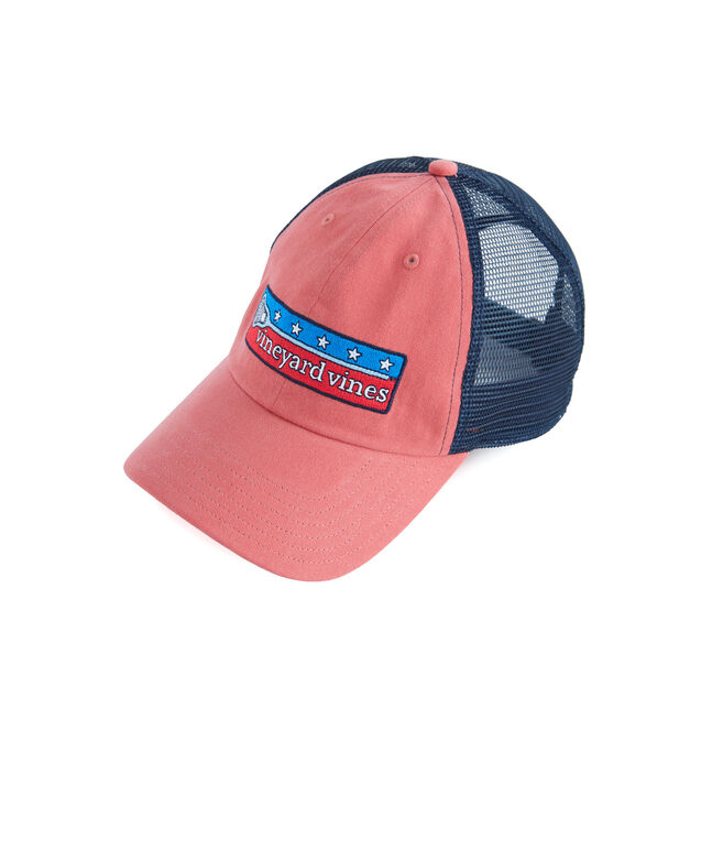 Low Profile Lax Patch Trucker Hat