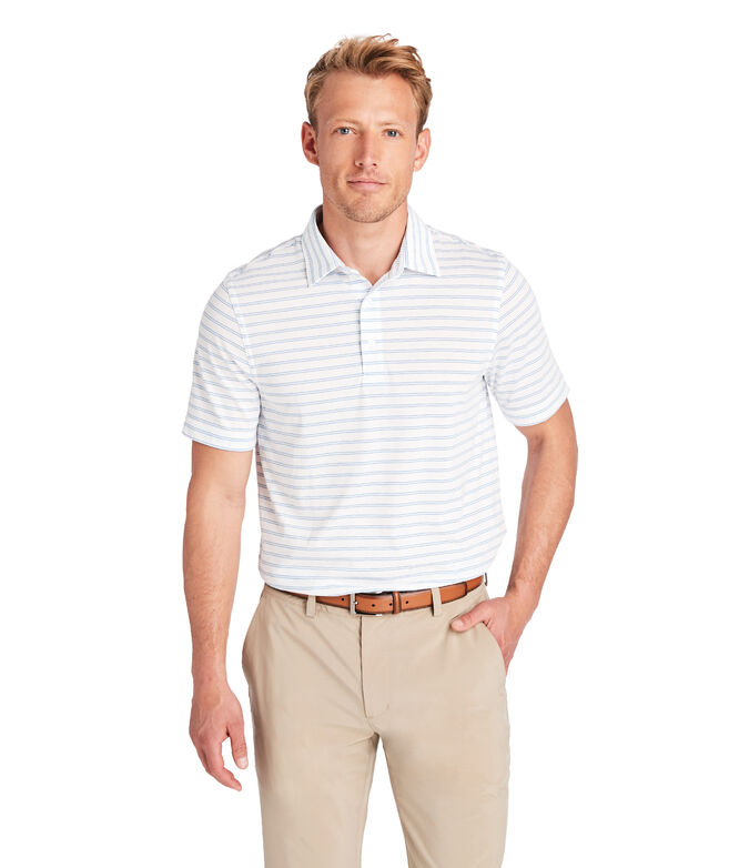 Carmel Double Stripe Polo