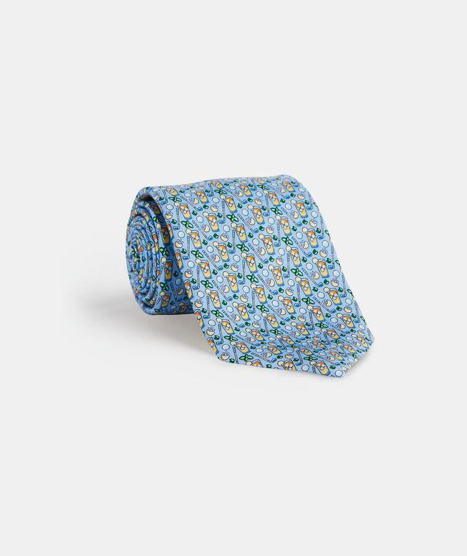 Tea Time Printed Tie