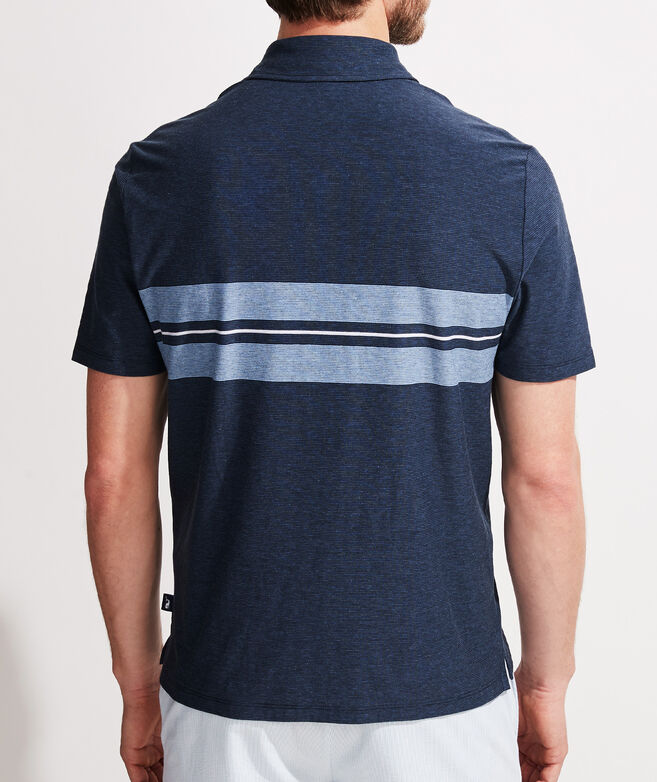 Surf Stripe Edgartown Polo