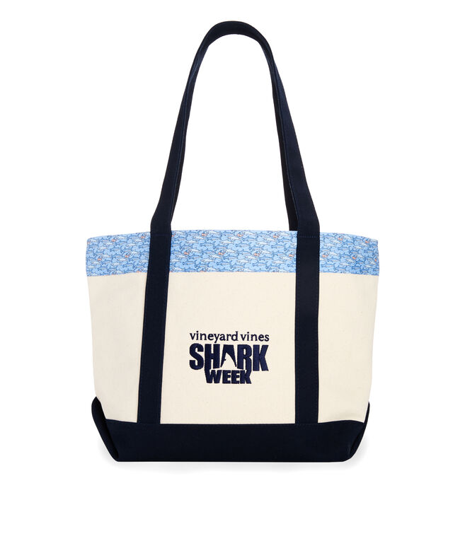 Shark Week Keep Swimming Classic Tote