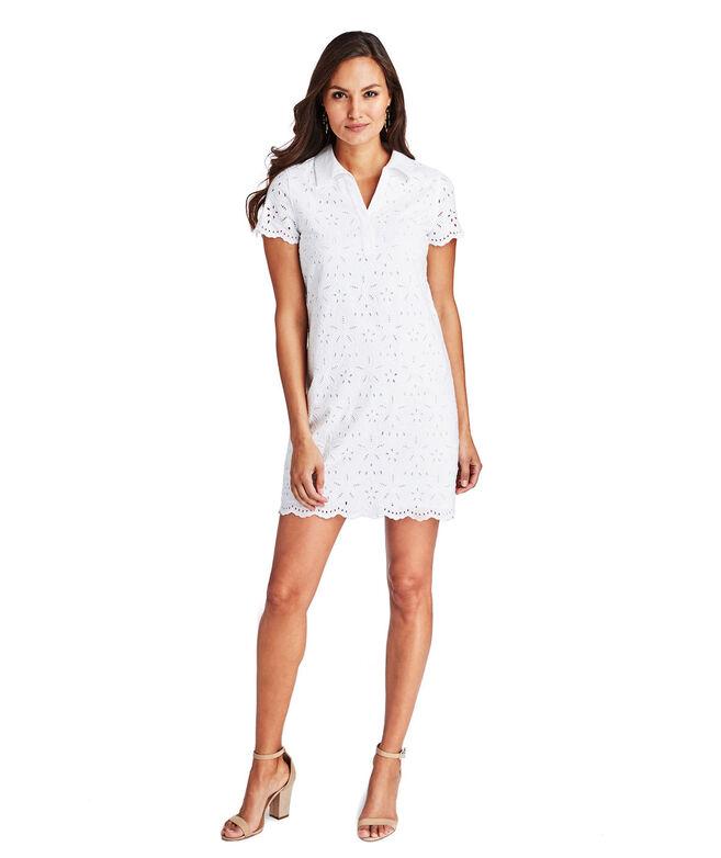 Eyelet Margo Shirt Dress