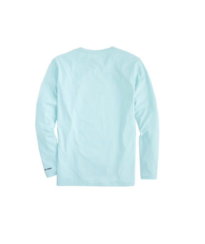Long-Sleeve Performance Space-Dyed vineyard vines T-Shirt