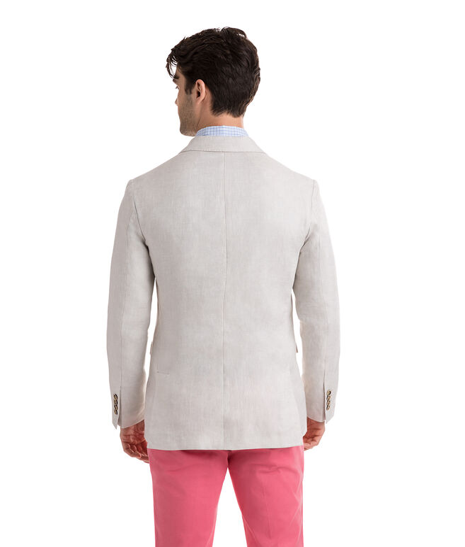 Unconstructed Linen Blazer