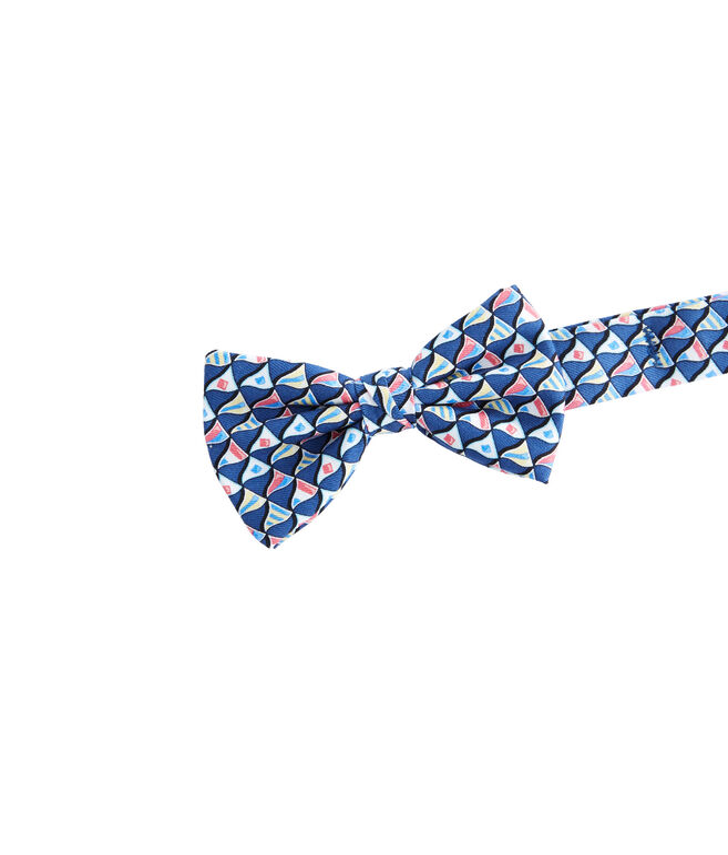Boys Nautical Flags Printed Bow Tie