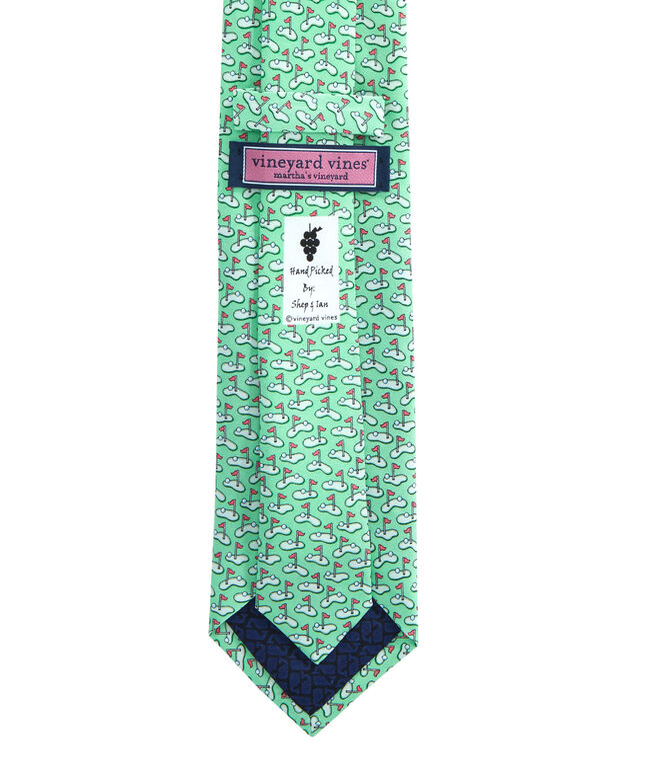 Golf Greens Tie