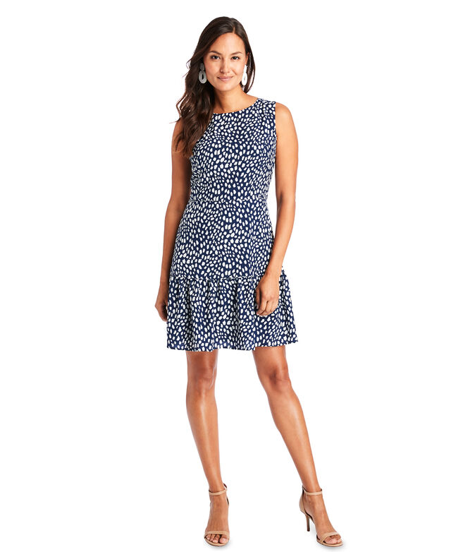 Painted Dots Sleeveless Dress