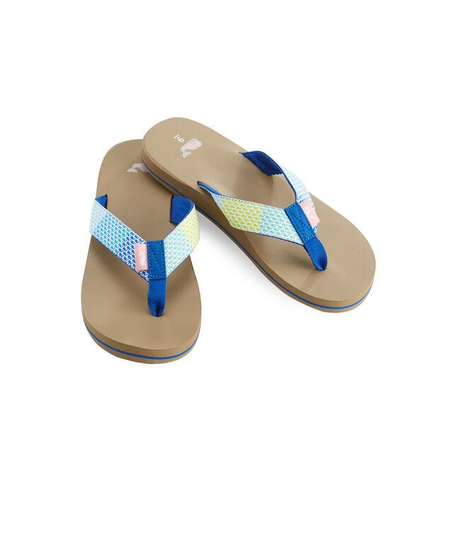 Patchwork Classic Flip Flops