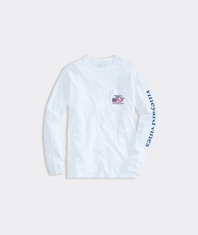 Limited-Edition Womens Wake Me Up In 2021 Long-Sleeve Pocket Tee
