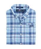 Boys Placida Plaid Harbor Shirt