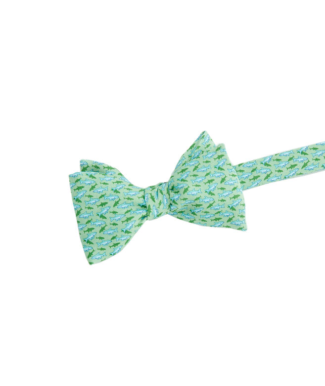 Fish With Shadow Printed Bow Tie