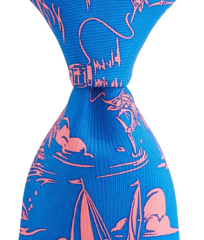 Island Bungalow Tie