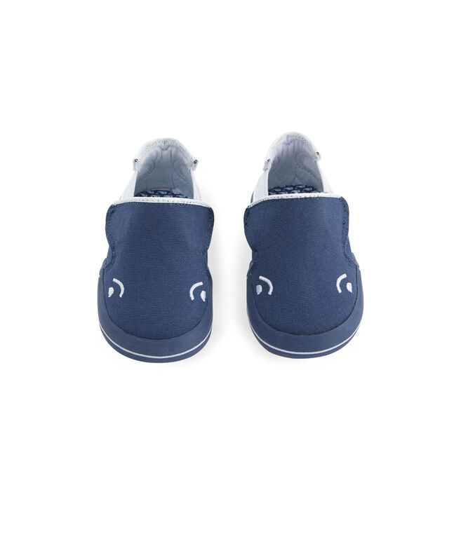 Infant Sperry x vineyard vines Crib Whale Shoe