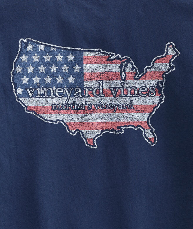 USA Short-Sleeve Pocket Tee
