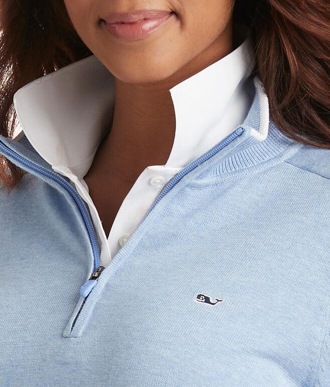 Womens Cotton 1/4-Zip