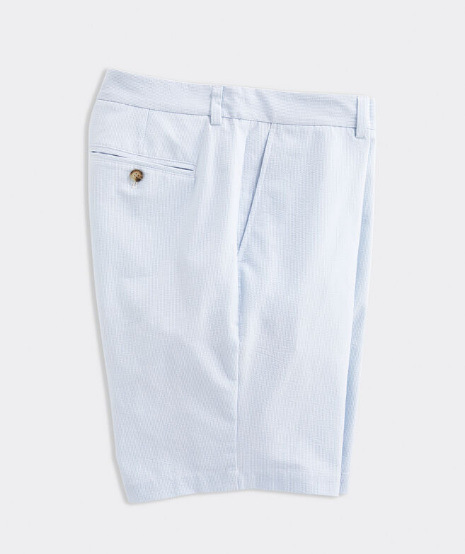 9 Inch Seersucker Breaker Shorts