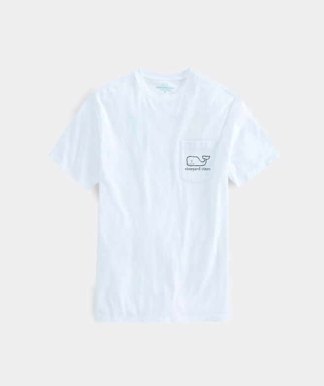 Vintage Whale Short-Sleeve Pocket Tee