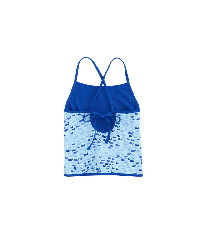 Girls School Of Whales Tankini Top