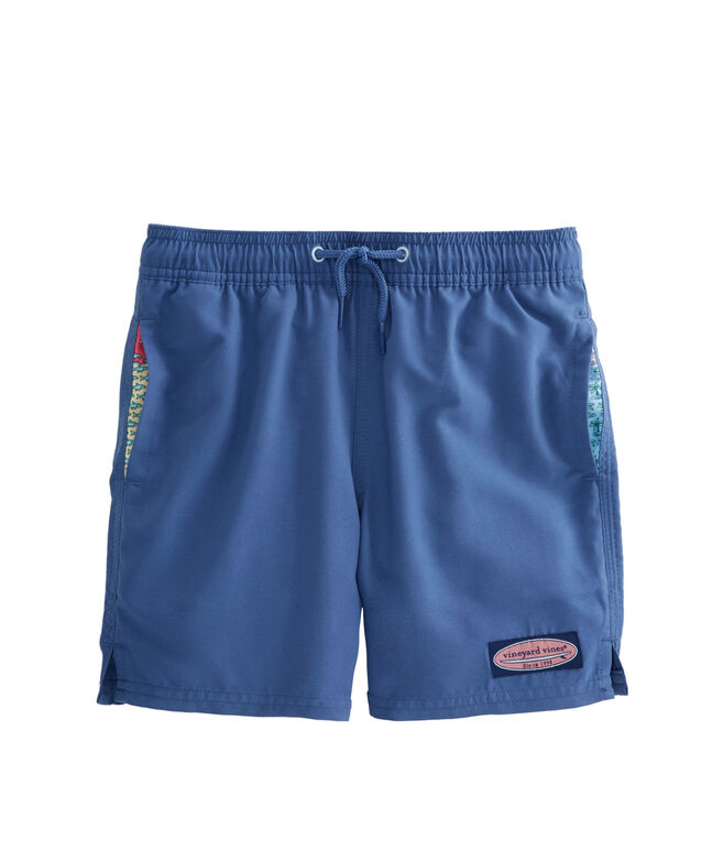 Boys vineyard vines Patchwork Panel Chappy Trunks