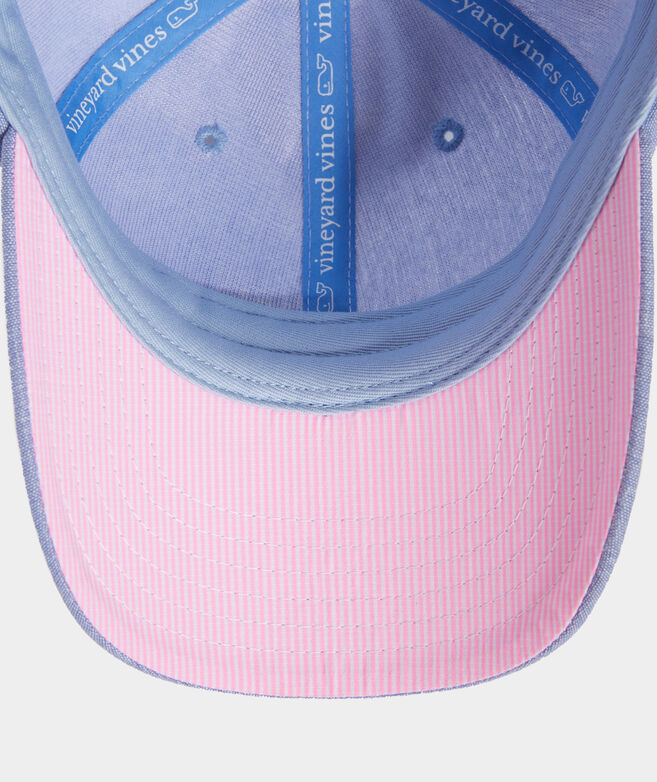 Girls' Whale Logo Chambray Hat
