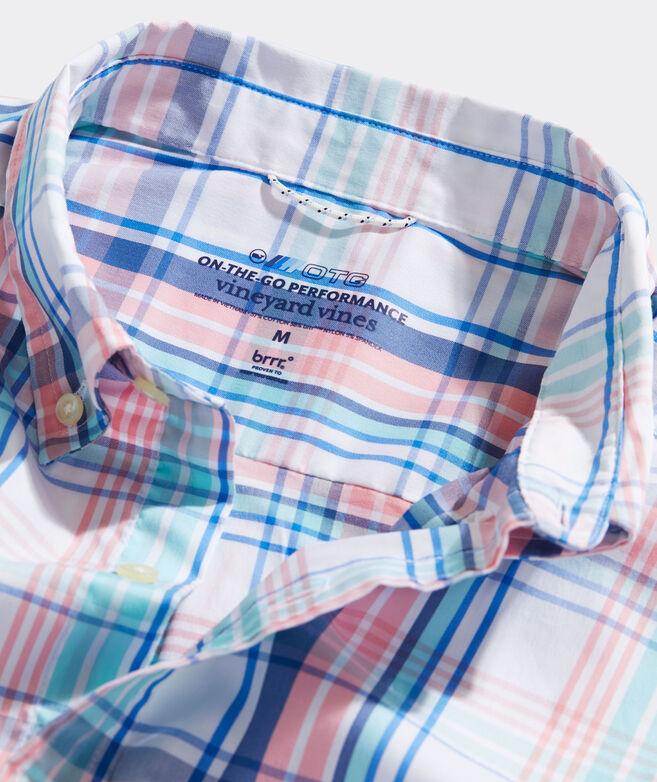 On-The-Go Shirt brrr° Plaid Shirt