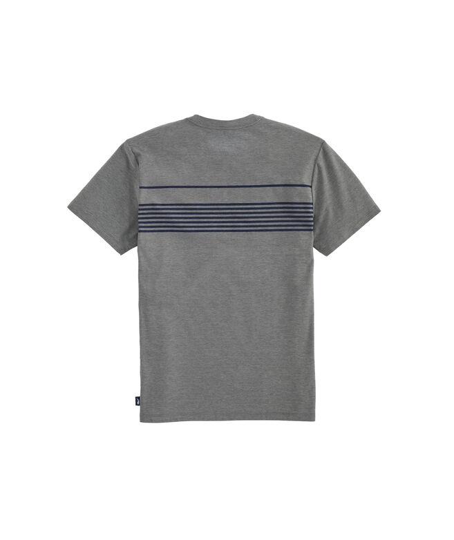 Palm Beach Chest Stripe Short-Sleeve Edgartown Tee