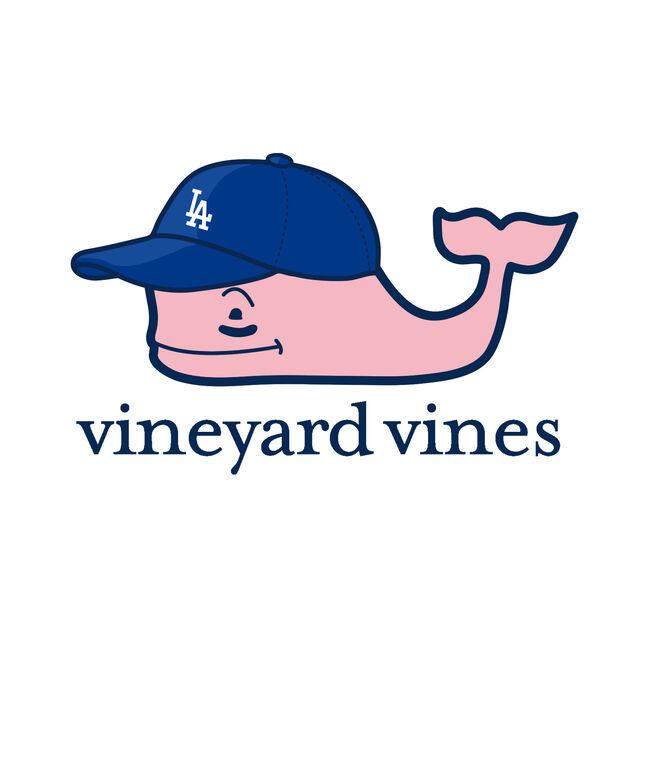 Adult Los Angeles Dodgers Baseball Cap Pocket T-Shirt