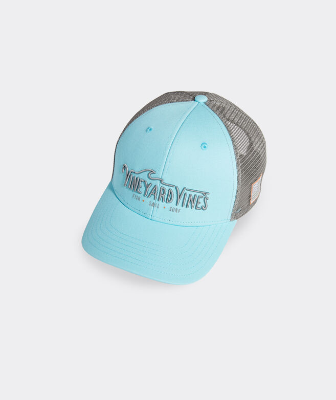 Fish. Sail. Surf. Trucker Hat