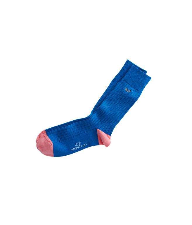 Solid Dress Socks