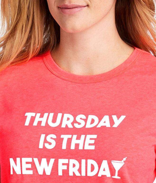 Thursday Is The New Friday Island Graphic Tee