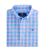 Boys Blyden Check Beach Tartan Whale Shirt