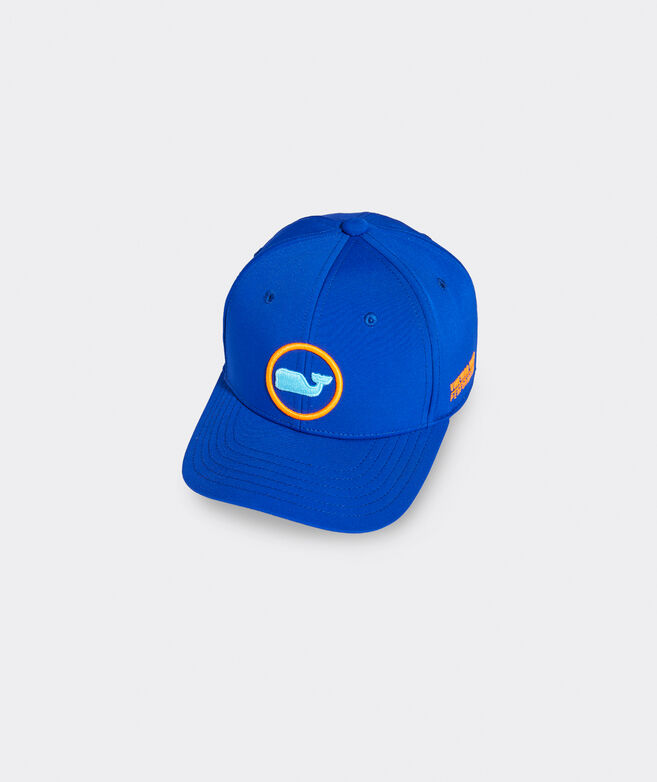 Boys' Neon Whale Dot Performance Baseball Hat