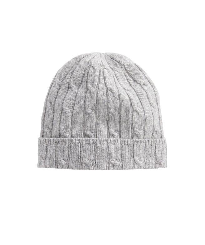 Cashmere Coral Lane Knit Hat