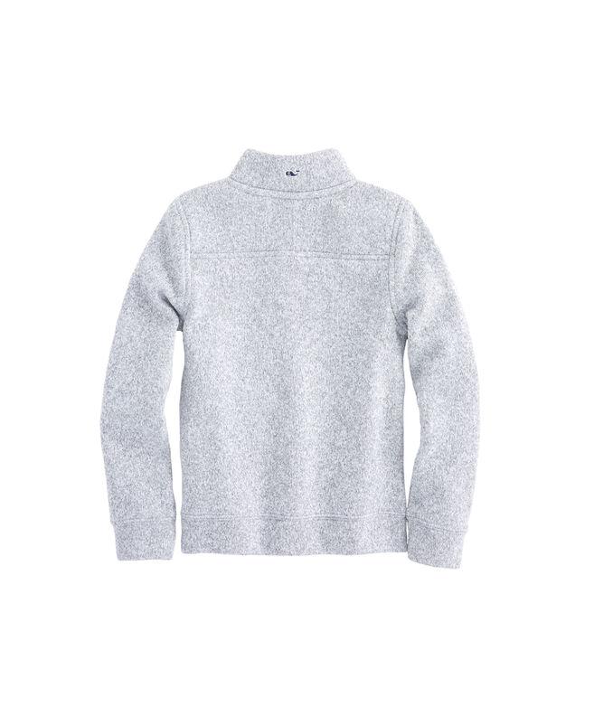 Girls Full-Zip Sweater Fleece