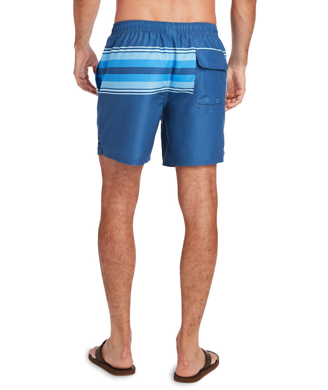 OUTLET Men's Striped Chappy Trunks