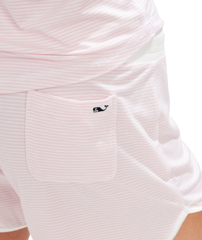 Knit Shorts Pajama Set