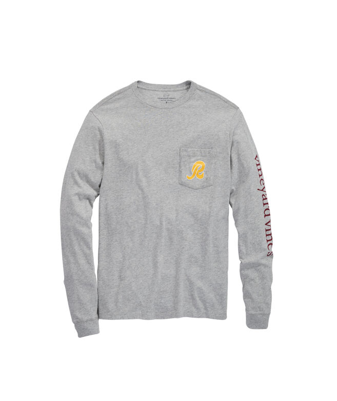 Washington Redskins Long-Sleeve EDSFTG T-Shirt