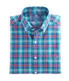 Northern Shore Plaid Slim Tucker Shirt