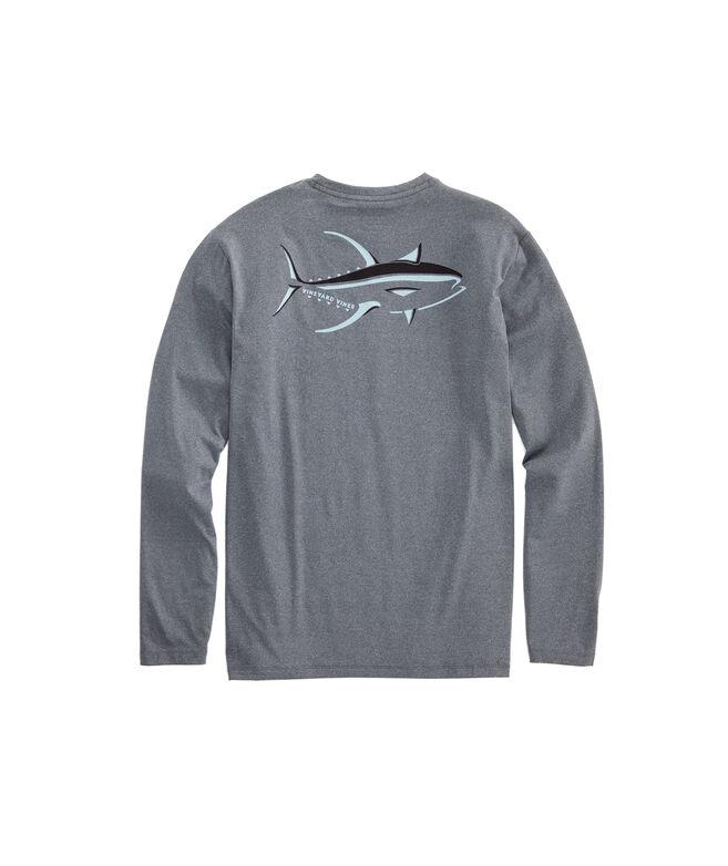 Long-Sleeve Performance Yellowfin T-Shirt